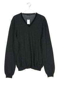 NANIBON - schurwoll-pullover mit v-neck - 52