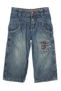 IKKS - jeans mit logo-stickerei - 110