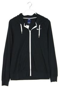 NIKE - zipper-jacke aus jersey mit logo-stickerei - L