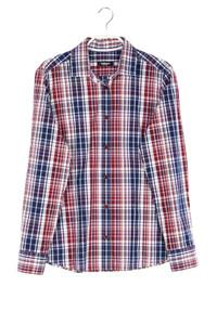 walbusch - hemd-bluse mit karo-muster - D 38
