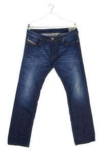 Diesel Industry - used look straight cut jeans mit stretch - W34