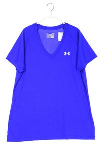 UNDER ARMOUR - sport t-shirt mit logo-print - L