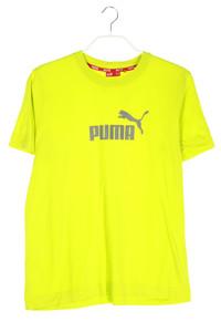 PUMA - t-shirt aus baumwolle mit logo-print - M