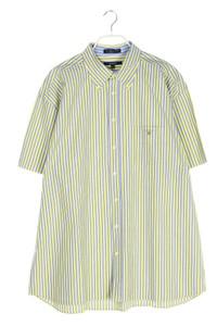 GANT - gestreiftes button-down-hemd mit logo-stickerei - XXL