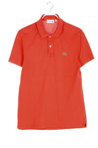 LACOSTE - polo-shirt mit logo-patch - M