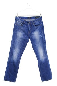 GUESS Los Angeles - used look skinny-jeans mit stretch - W31