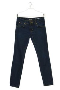 Marc O´Polo - dark denim skinny-jeans mit logo-patch - W28