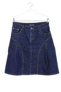 Lestand - jeans-rock mit falten - D 40