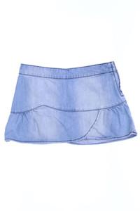 FISHBONE - jeans-rock im used look mit raffungen - 128