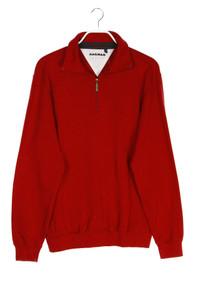 RAGMAN - troyer-pullover aus baumwolle mit logo-stickerei - M