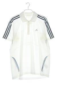 adidas - polo-shirt mit logo-print - L