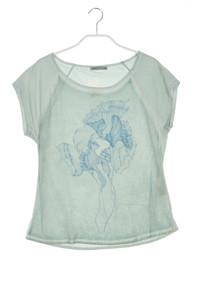 NILE collection - garment dyed-shirt mit seiden-details - XS