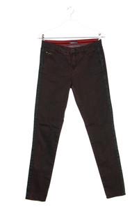 NILE - garment dyed-skinny-jeans mit galonstreifen - S