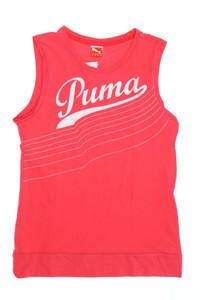 PUMA - top mit logo-print - 164