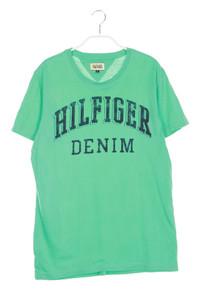 Hilfiger Denim - t-shirt mit logo-print - L