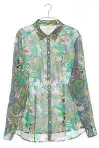 BRAX - hemd-bluse mit paisley-print - D 42