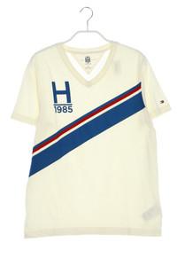TOMMY HILFIGER - t-shirt mit logo-print - S