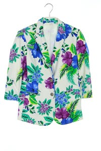 ouí COLLECTION - blazer mit tropical print - D 34
