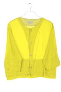 NILE Sportswear - leinen-jacke mit 3/4-ärmel - L