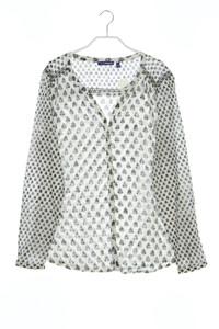Charles Vögele - bluse aus baumwolle mit print - D 42