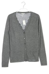 maddison - cardigan aus seiden-mischung mit kaschmir im layer look - S