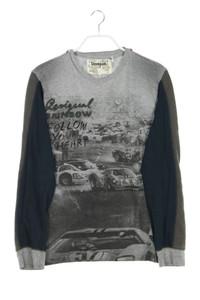 Desigual - longsleeve-shirt mit rundhals - M