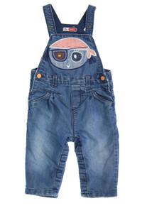 DPAM - jeans-overall mit stickereien - 74