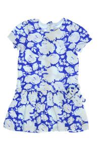 PETIT BATEAU - kleid mit floralem muster - 74