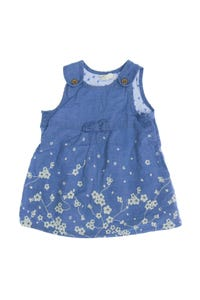 H&M - latz-kleid mit blumen-print - 56