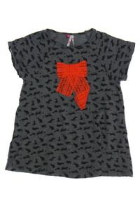 ORCHESTRA - print- t-shirt mit applikationen - 104