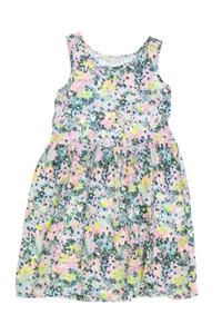 H&M - kleid aus baumwolle mit floralem muster - 110