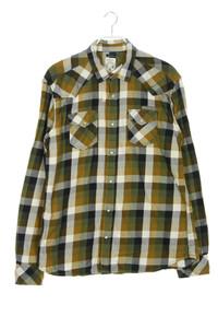 DIESEL - kariertes hemd mit aufgesetzten taschen - XL