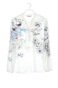 Desigual - bluse mit print - XL