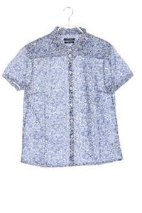 Marc O´Polo - print-hemd-bluse mit kurzem ärmel - D 36