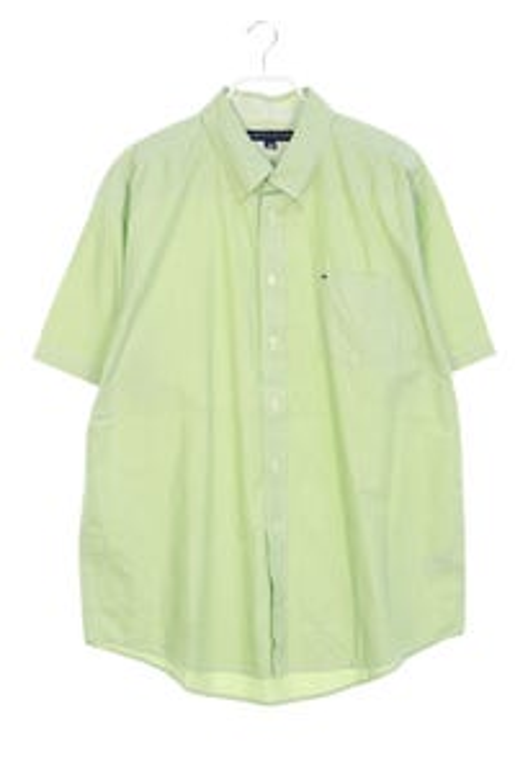TOMMY HILFIGER - button-down-hemd mit logo-stickerei - XL