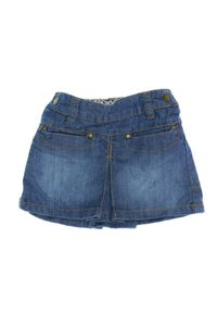 H&M - jeans-rock im used look mit falten - 62