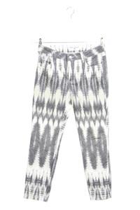 rick cardona - straight cut jeans mit print - D 38