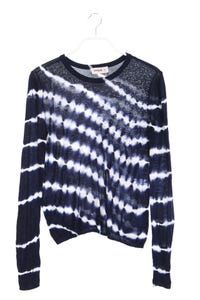 Desigual by Christian Lacroix - batik-strick-pullover mit strass-steinen - M