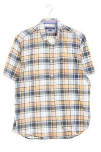 Marc O´Polo - karo-kurzarm-hemd mit button-down-kragen - L