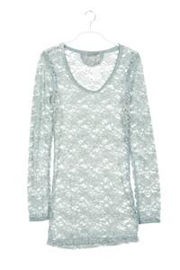 NILE - longsleeve-shirt aus spitze - XS