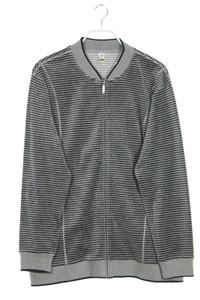 CALIDA - streifen-cardigan mit reißverschluss - L