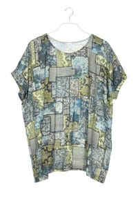 Alba Moda - kurzarm-shirt mit print - D 48