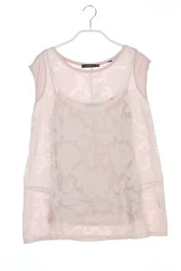 ESPRIT - shirt im layer look mit chiffon - M