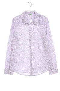 UNITED COLORS OF BENETTON - hemd-bluse mit blumen-print - M