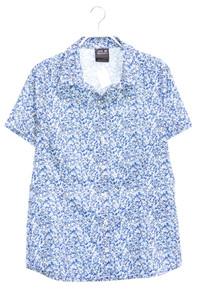 Jack Wolfskin - kurzarm-bluse mit logo-stickerei - S