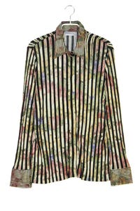 SOMMERMANN - hemd-bluse mit streifen - D 42