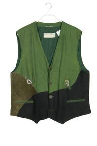 Mode aus Salzburg byh. moser - trachten-weste aus leinen - 52