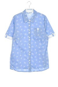 Paola! - hemd-bluse mit kurzem ärmel - D 40