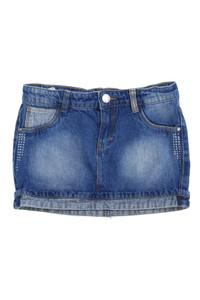 TERRANOVA - jeans-rock im used look mit strass-steinen - 128