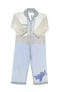 POWELL CRAFT NURSERY - pyjama-kombination aus baumwolle mit applikationen - 110